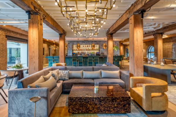 Batture Bistro + Bar Dining Room