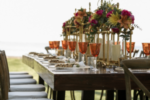 Outdoor catered event