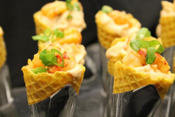 Messina's Crawfish Cones