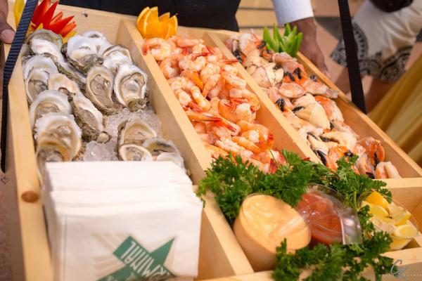 Messina's seafood tray