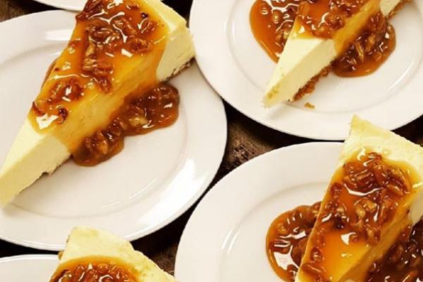 Messina's cheesecake slices