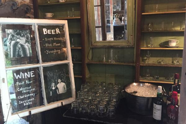Messina's custom bar