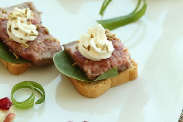 Messina's appetizer toasts