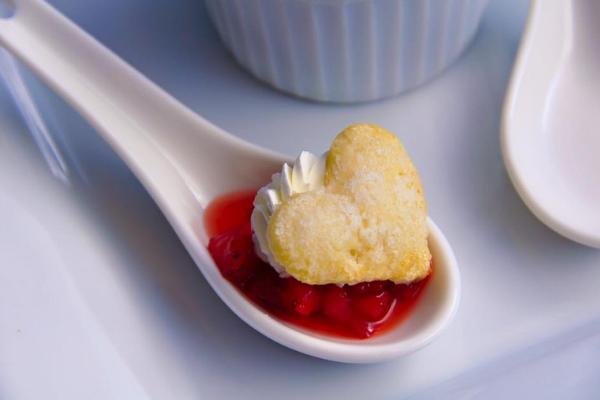 Ponchatoula Strawberry Shortcake spoon
