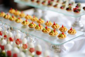 miniature foods catering menu