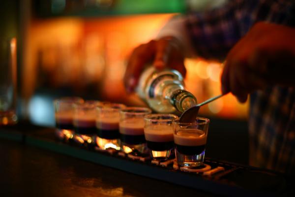 mini cocktails