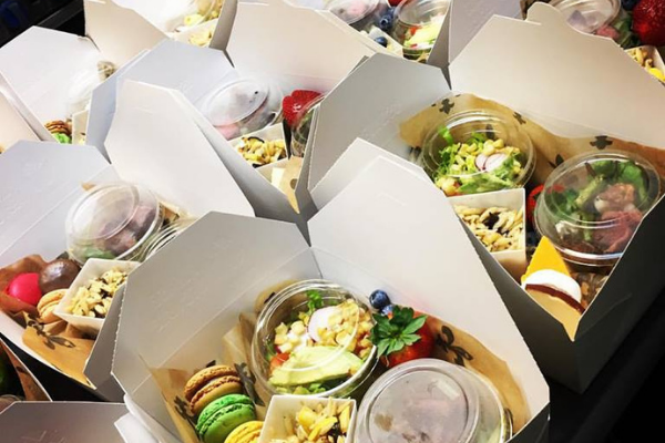 Messinas boxed lunch