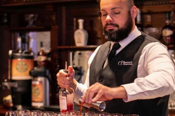 Messina's bartender