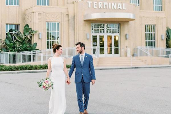 Messina's at the Terminal Wedding