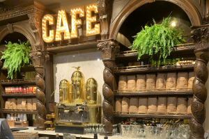 Messina's Basin Street Station Coffee Bar