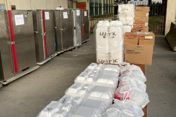 Messina's Emergency Feeding Supplies Hurricane Ida