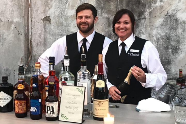 Messina's catering bartenders